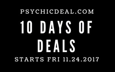 10 Days of Psychic Deals
