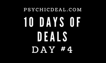 Ten Days of Deals (Day #4): Get unlimited free-chat and 9.99 Free credits for private video readings.