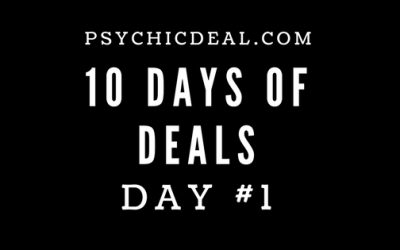 Ten Days of Deals (Day #1): Get a Free 6-minute Telephone Psychic Reading