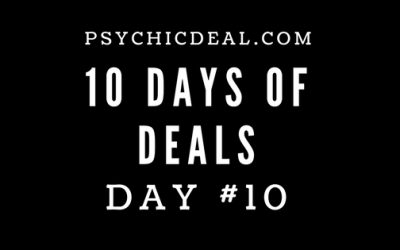 Ten Days of Deals (Day #10): Receive a 15-Minute Telephone Psychic Reading for $10.